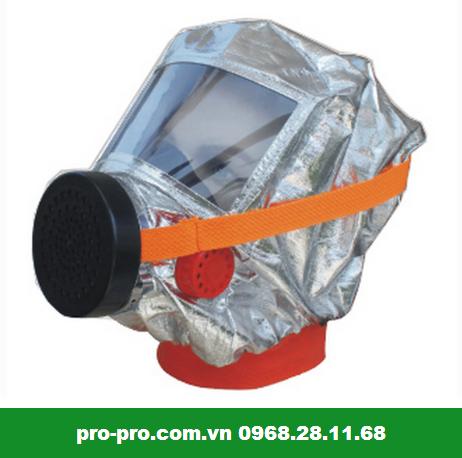 Mặt nạ phòng khói độc Đài Loan 1 Phin tạo sự thoải mái cho người sử dụng trong thời gian dài
